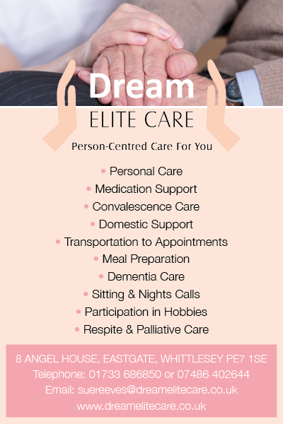 Dream Elite Care - Personal Care - Whittlesey