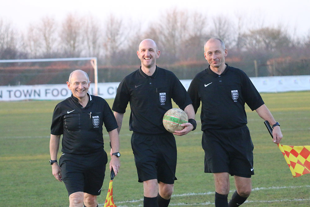 train as a football referee