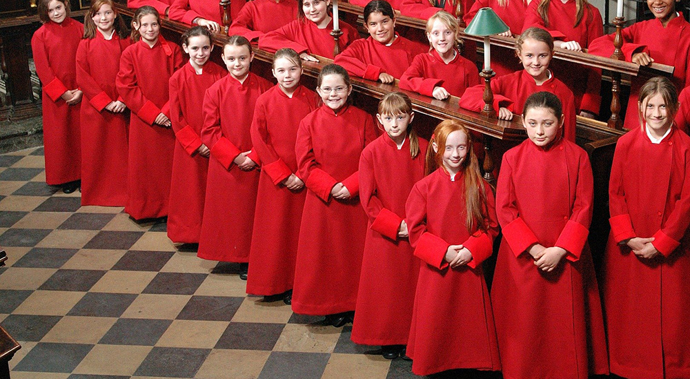 Be a Chorister for a Day