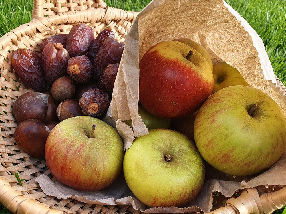 Recipe Toffee Apple Crumble