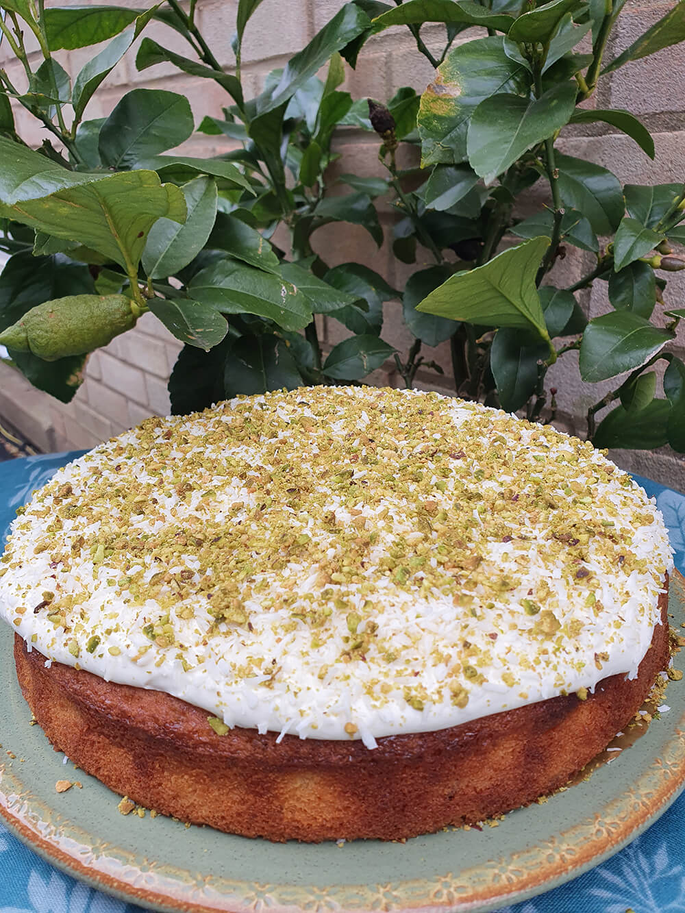 Lime and Cardamom Cake