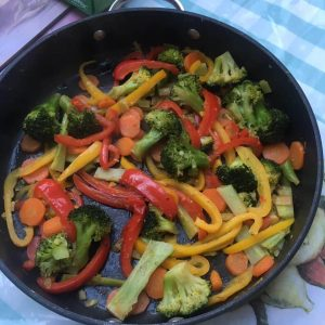 Zingy Vegetable Stir Fry