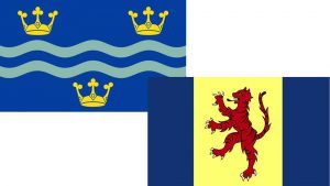 Cambridgeshire and Fenland Flags