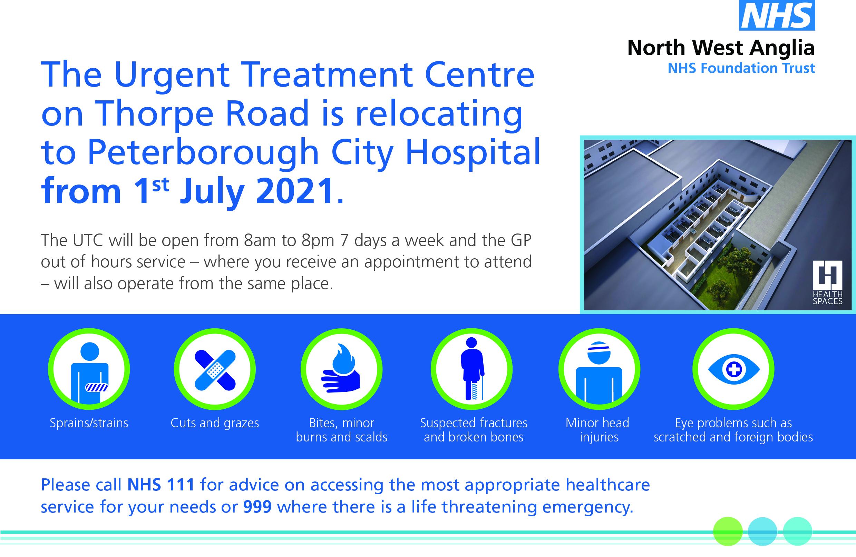 Urgent Treatment Centre Peterborough