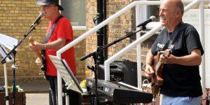 socially distanced outdoor performances