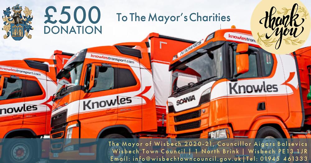 Wisbech mayor fundraising